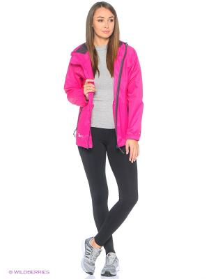 Куртка Trespass. Цвет: розовый