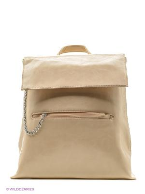 Рюкзак женский Malvinas. Цвет: бежевый