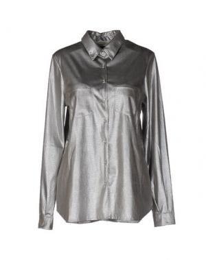 Pубашка MONICA •LENDINEZ. Цвет: светло-серый