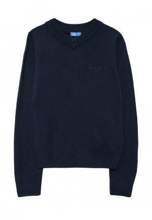 Пуловер Button Blue. Цвет: синий
