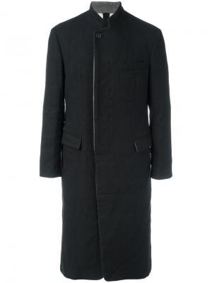 Длинное пальто Prussian Forme Dexpression D'expression. Цвет: чёрный