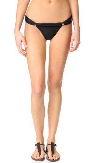 Плавки бикини Bia ViX Swimwear. Цвет: голубой