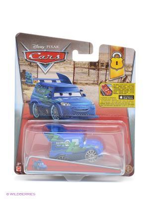 Машина Тачки 2 Mattel. Цвет: синий, зеленый, серебристый, прозрачный