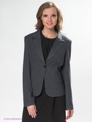 Пиджак DRS Deerose. Цвет: серый