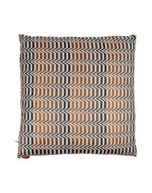 Подушка MISSONI HOME. Цвет: ржаво-коричневый
