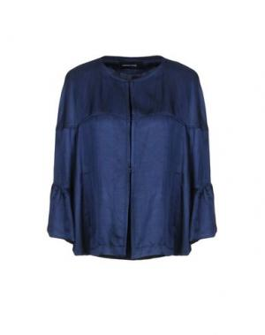 Пиджак FABRIZIO LENZI. Цвет: темно-синий