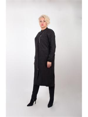 Пальто Minimum. Цвет: черный