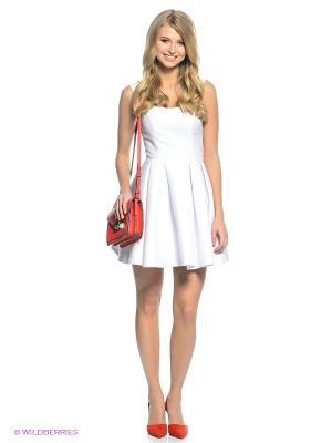Платье Kira Plastinina. Цвет: белый