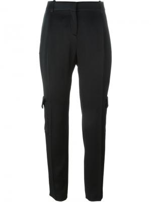 Зауженные брюки Fausto Puglisi. Цвет: чёрный