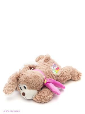 Мишка Пятнышко 45 См. (SUT-010SBX239-1-45-S) MAXITOYS. Цвет: белый, серо-коричневый, розовый