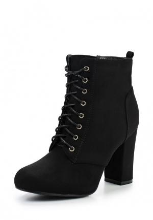 Ботильоны Sweet Shoes. Цвет: черный