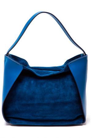 Сумка SOFIA CARDONI. Цвет: синий