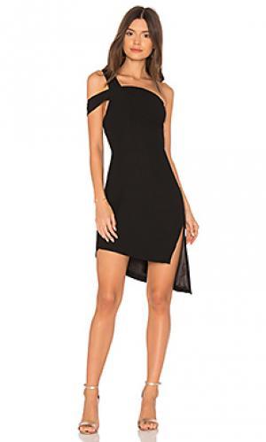 Мини платье candice AQ/AQ. Цвет: черный
