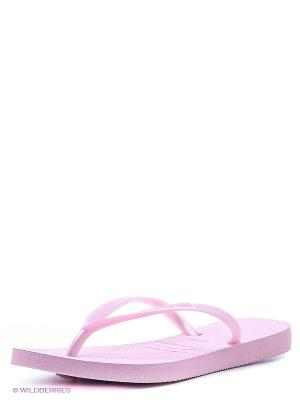Шлепанцы Havaianas. Цвет: бледно-розовый