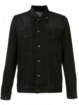 Denim jacket Denham. Цвет: чёрный