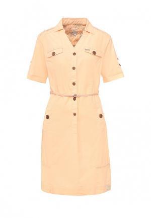 Платье Torstai. Цвет: оранжевый