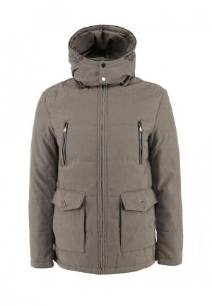 Куртка утепленная Bata. Цвет: бежевый