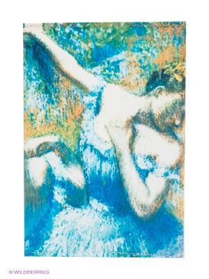 Обложка для автодокументов Дега Mitya Veselkov. Цвет: синий, белый