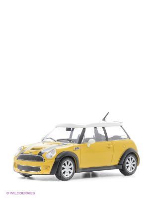 1:24 BB Машина MINI Cooper S металл. Bburago. Цвет: желтый