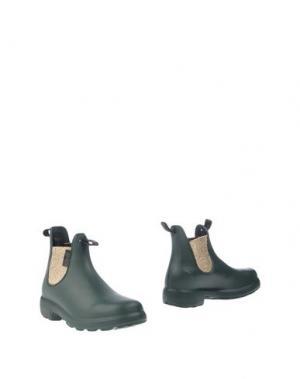 Полусапоги и высокие ботинки GAZEL. Цвет: темно-зеленый