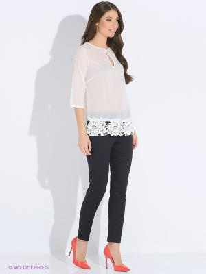 Блузка LUIGI FERRO. Цвет: белый