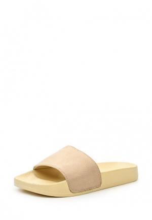 Шлепанцы Style Shoes. Цвет: бежевый