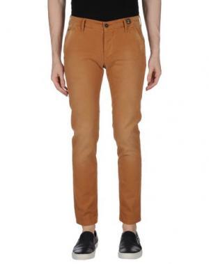 Повседневные брюки 0/ZERO CONSTRUCTION. Цвет: коричневый