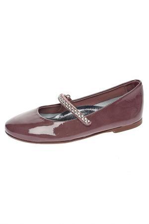 Туфли детские Eli. Цвет: темно-розовый