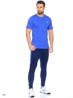 Брюки M NK DRY SQD PANT KPZ Nike. Цвет: темно-синий