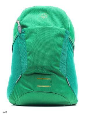 Рюкзак KIDS MOAB JAM Jack Wolfskin. Цвет: зеленый