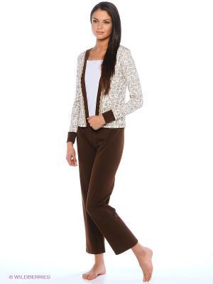 Комплект Milana Style. Цвет: коричневый