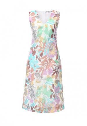 Платье Elmira Markes. Цвет: разноцветный