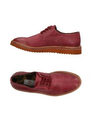 Обувь на шнурках YAB. Цвет: пурпурный