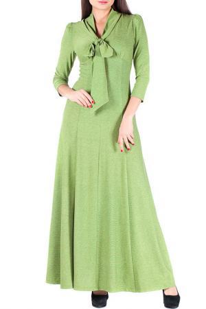 Платье Mannon. Цвет: салатовый