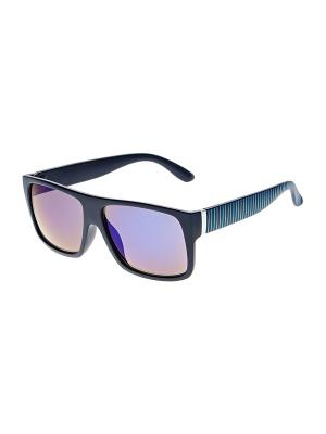Очки солнцезащитные Infiniti. Цвет: синий, белый