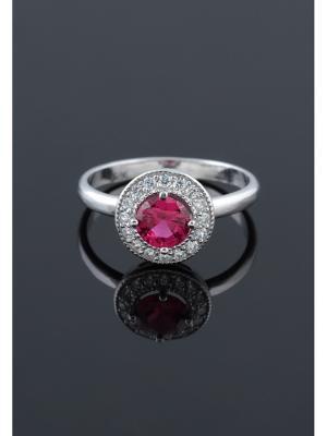 Кольцо Migura. Цвет: серебристый, красный