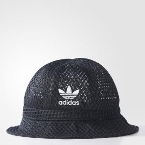 Шляпа BUCKET  Originals adidas. Цвет: черный