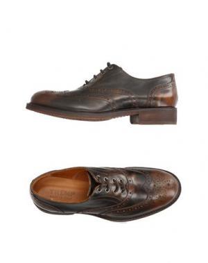 Обувь на шнурках TREMP. Цвет: темно-коричневый