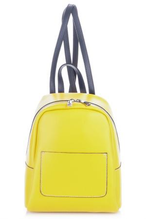 Рюкзак Giancarlo Bassi. Цвет: yellow