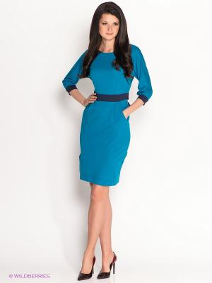Платье Personage. Цвет: синий, темно-синий