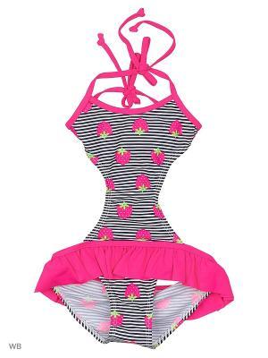 Слитный купальник Infinity Lingerie. Цвет: розовый, серый, салатовый