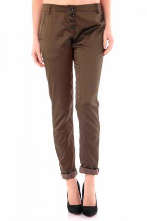 Trousers Cristina Gavioli. Цвет: dark green