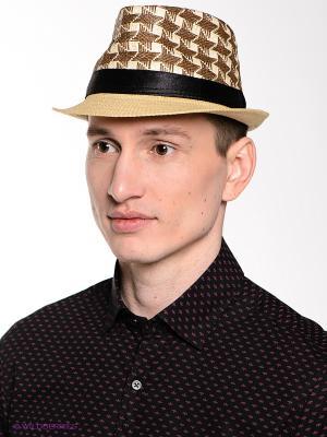 Шляпа FOMAS. Цвет: светло-бежевый