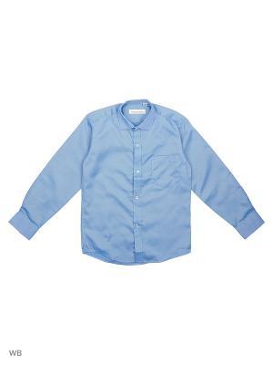 Рубашка FASHION LEADER. Цвет: бирюзовый