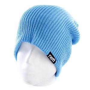 Шапка носок  Daily Double Cyan Neff. Цвет: голубой