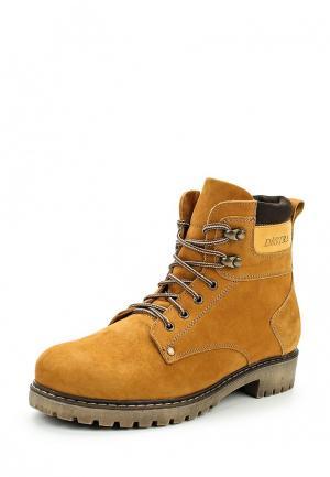 Ботинки Destra. Цвет: коричневый