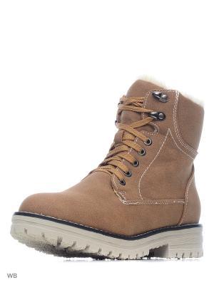Ботинки ELCHE. Цвет: светло-коричневый