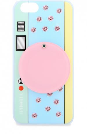 Чехол для iPhone 6 с зеркалом Iphoria. Цвет: разноцветный
