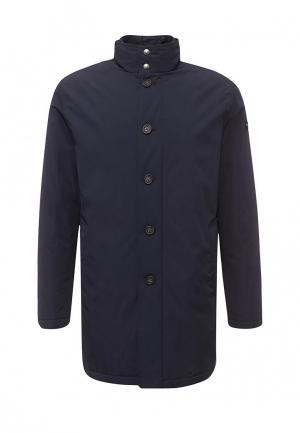 Куртка утепленная Eden Park. Цвет: синий