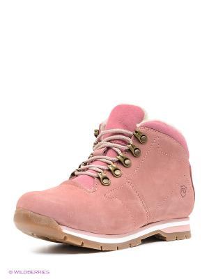 Ботинки Francesco Donni. Цвет: розовый